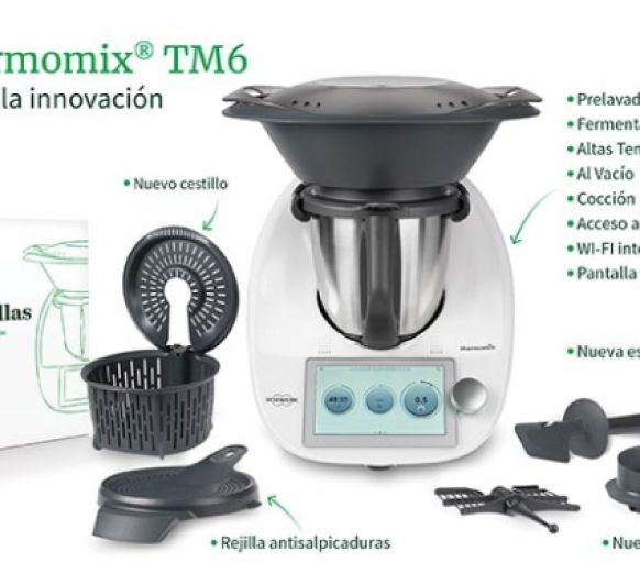 VÍDEO DE LA PANTALLA Thermomix® TM6