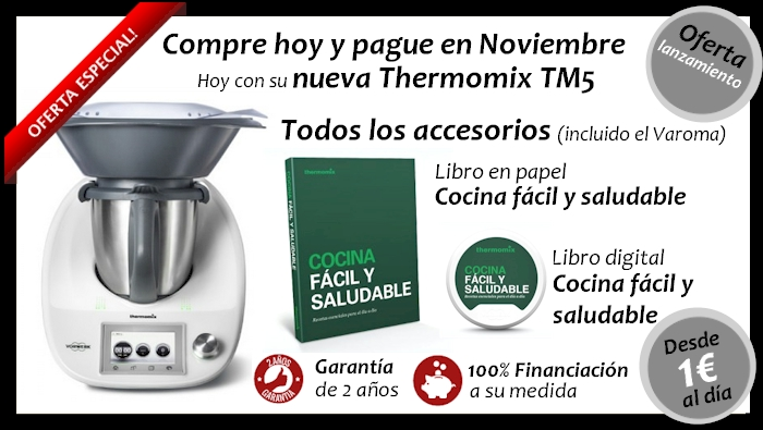 ¡¡Nueva Thermomix® !! Sin palabras nos ha dejado