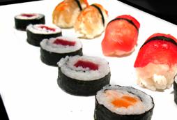 Maki sushi y Nigiri sushi