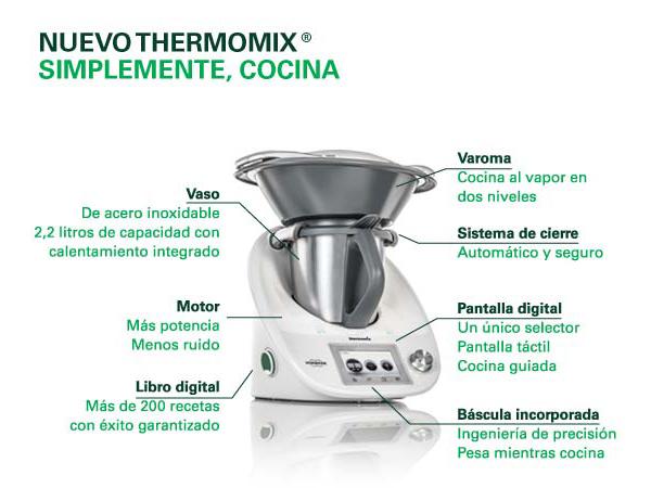 Compra la nueva thermomix tm5 noticias blog blog for Precio cocina nueva