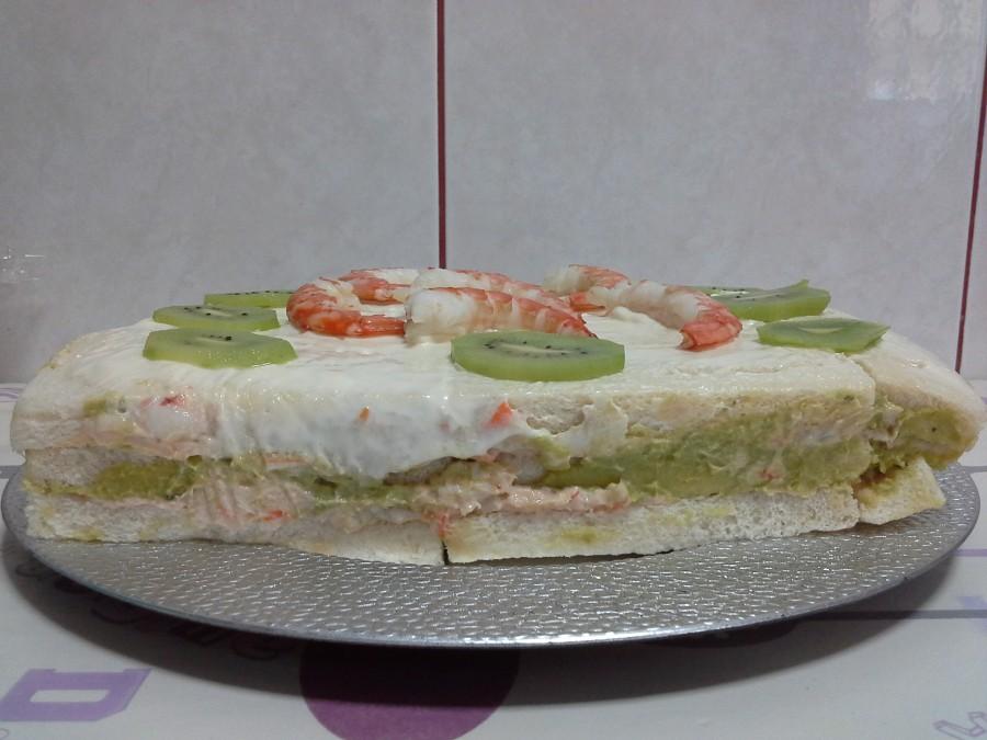 Pastel de marisco,ideal para prepararlo con un día de antelación