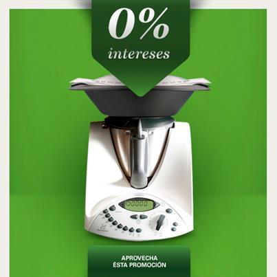 Compra tu Thermomix® al 0% de interés!!!