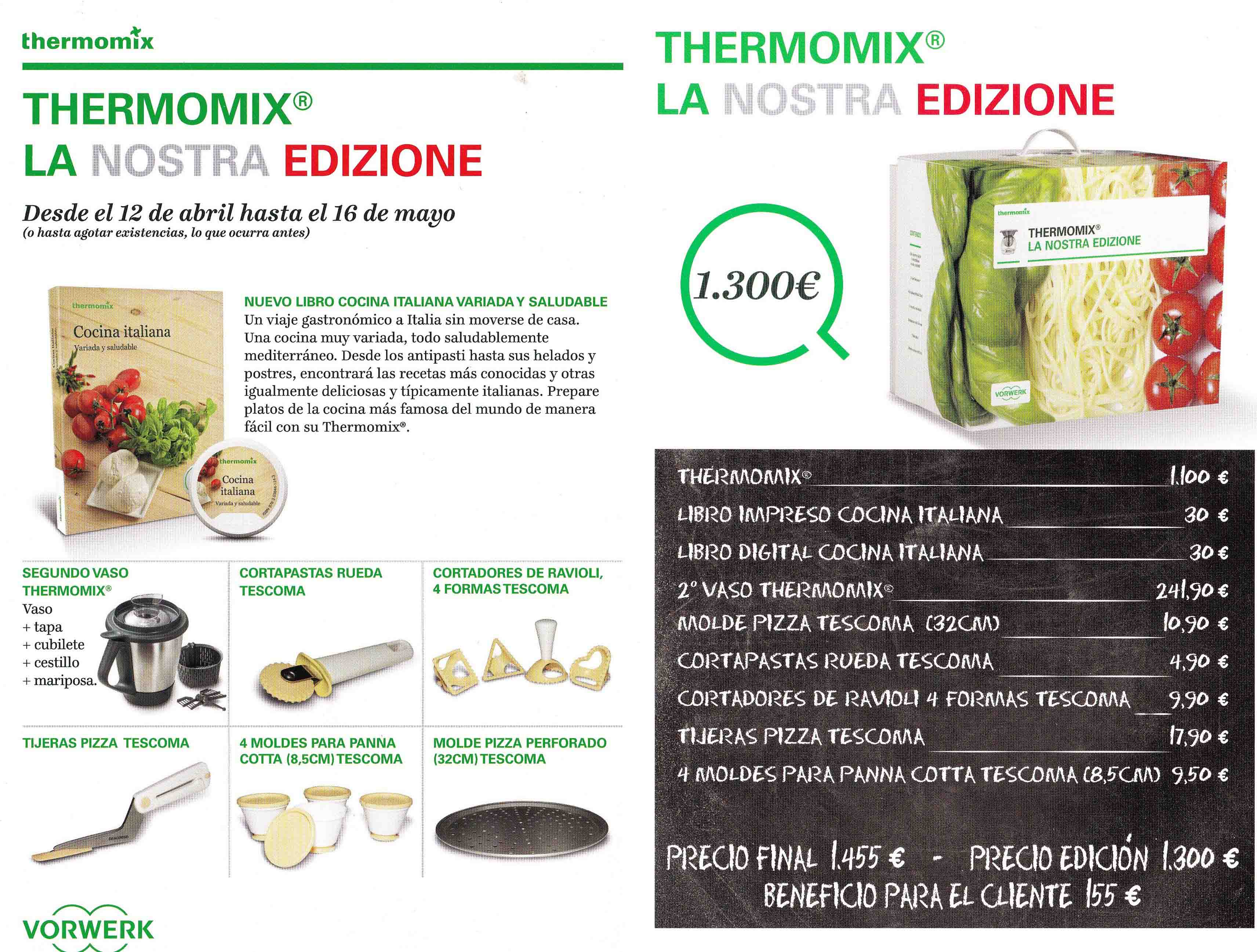 COMPRA Thermomix® TM5 EDIZIONE 2016