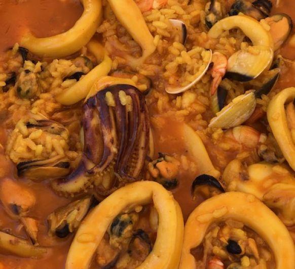 Paella de Marisco con Thermomix®