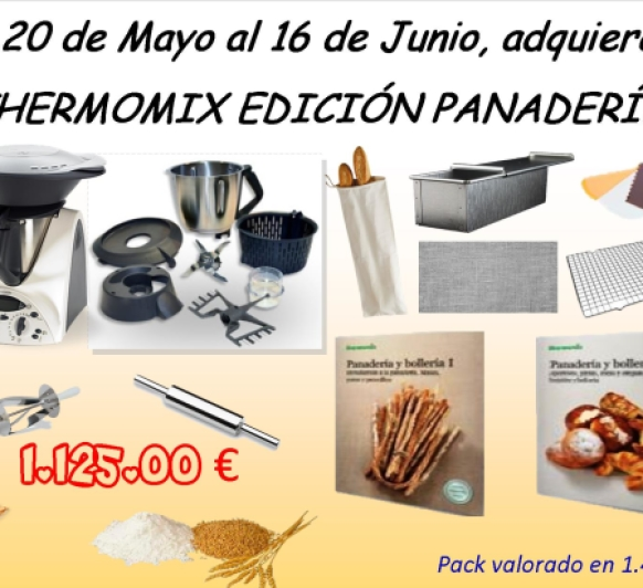 Thermomix® EDICIÓN PANADERÍA