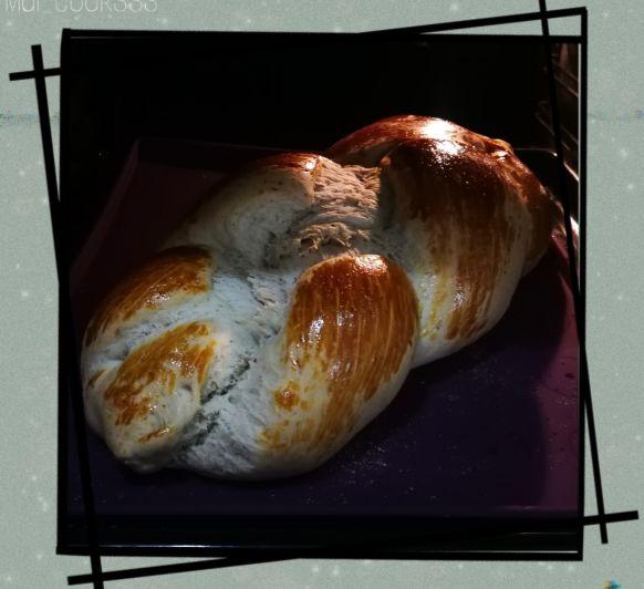 Pan de leche (con bebida de avena)