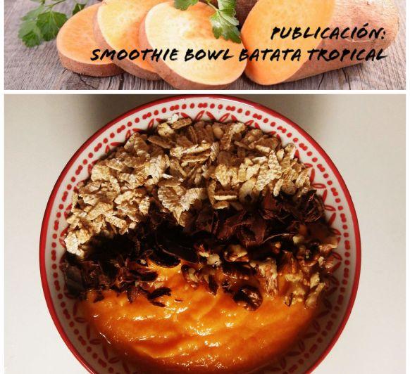 Smoothie Bowl Batata Tropical con Thermomix®