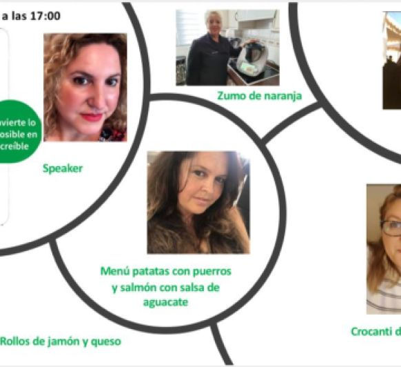 Experiencia Gastronómica en Facebook privado de Thermomix® Gran Canaria.