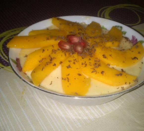 Tiramisu de Mango, algo diferente!