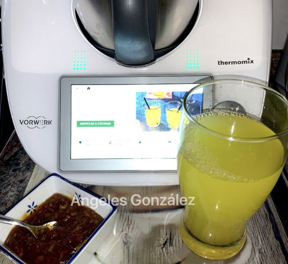 REFRESCO DE FRUTAS CON Thermomix®