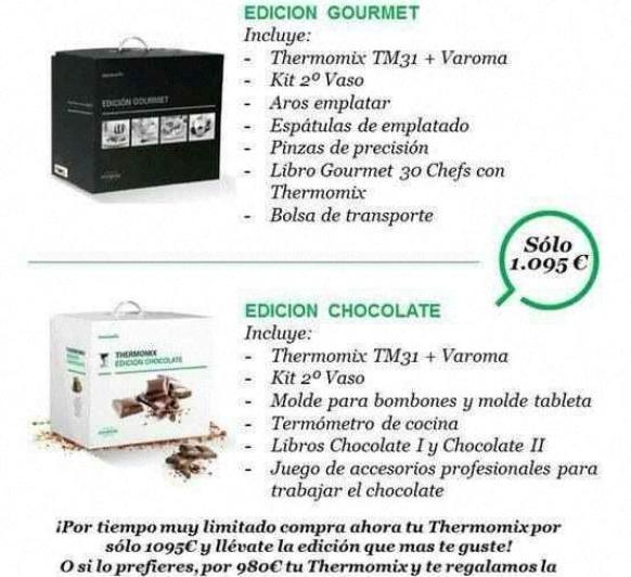 Edición CHOCOLATE o GOURMET!!!!