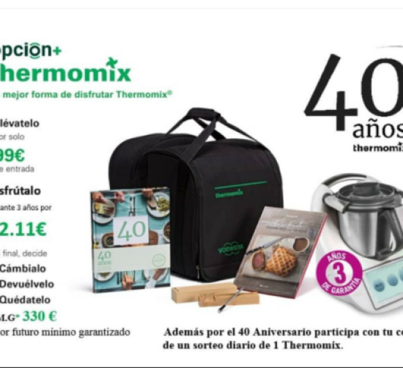 40Aniversario Thermomix®