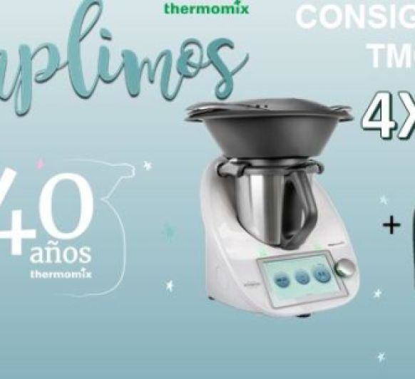 Consigue tu THermomix TM6 sin pagar