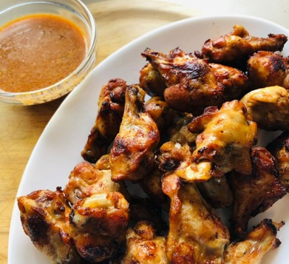 Alita de pollo picantes (Buffalo wing) con Thermomix®