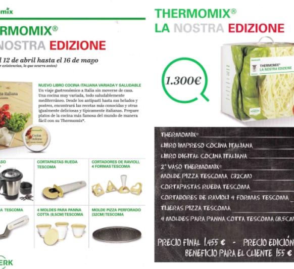 Compra Thermomix® Tm5 + Edición Italiana