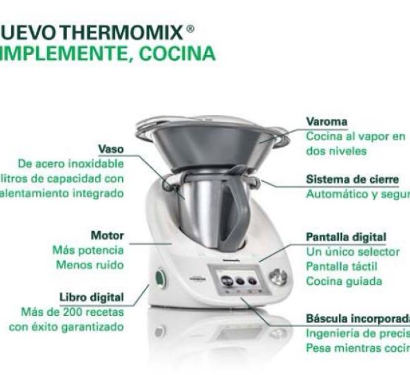 Conoce el Thermomix® . ¿Necesitas información?